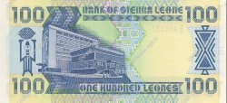 100 Leones SIERRA LEONE  1989 P.18b NEUF