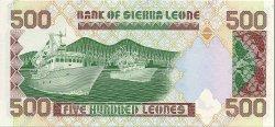 500 Leones SIERRA LEONE  1991 P.19 NEUF