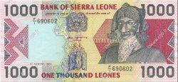 1000 Leones SIERRA LEONE  1993 P.20a NEUF
