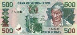 500 Leones SIERRA LEONE  1998 P.23 NEUF