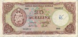 20 Scellini SOMALIE  1968 P.11 TTB