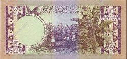 5 Shilin SOMALIE  1975 P.17a NEUF