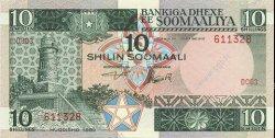 10 Shilin SOMALIE  1983 P.32a NEUF
