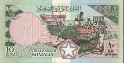 10 Shilin SOMALIE  1986 P.32b NEUF