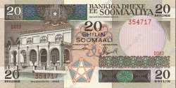 20 Shilin SOMALIE  1986 P.33b NEUF