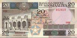 20 Shilin SOMALIE  1989 P.33d pr.NEUF