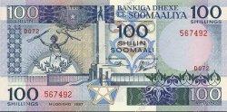 100 Shilin SOMALIE  1987 P.35b NEUF