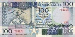 100 Shilin SOMALIE  1988 P.35c NEUF