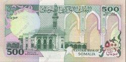 500 Shilin SOMALIE  1989 P.36a NEUF