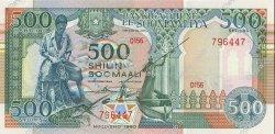 500 Shilin SOMALIE  1990 P.36b pr.NEUF