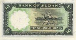 10 Pounds SOUDAN  1967 P.10c SUP