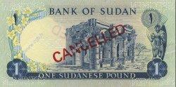 1 Pound SOUDAN  1970 P.13s pr.NEUF