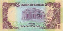 20 Pounds SOUDAN  1991 P.47 pr.NEUF