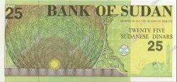 25 Dinars SOUDAN  1992 P.53a NEUF