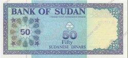 50 Dinars SOUDAN  1992 P.54b NEUF