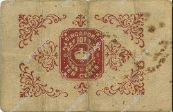 10 Cents MALAISIE - ÉTABLISSEMENTS DES DÉTROITS  1917 P.06b TTB