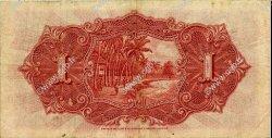 1 Dollar MALAISIE - ÉTABLISSEMENTS DES DÉTROITS  1925 P.09a TTB