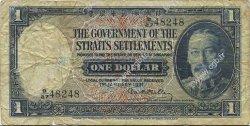 1 Dollar MALAISIE - ÉTABLISSEMENTS DES DÉTROITS  1931 P.16a B+