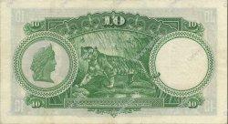 10 Dollars MALAISIE - ÉTABLISSEMENTS DES DÉTROITS  1935 P.18b SUP
