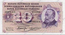10 Francs SUISSE  1965 P.45k pr.NEUF