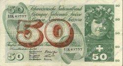 50 Francs SUISSE  1964 P.48d TTB