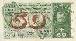 50 Francs SUISSE  1970 P.48j pr.SUP