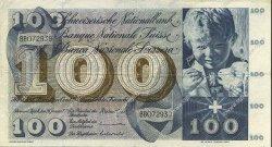 100 Francs SUISSE  1972 P.49m TTB