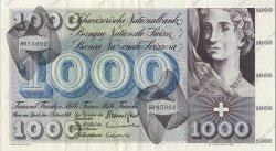 1000 Francs SUISSE  1964 P.52m SUP