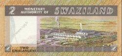 2 Emalangeni SWAZILAND  1974 P.02a NEUF
