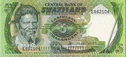 5 Emalangeni SWAZILAND  1982 P.09a pr.NEUF