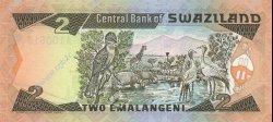 2 Emalangeni SWAZILAND  1987 P.13a NEUF