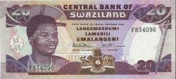 20 Emalangeni SWAZILAND  1990 P.21a NEUF