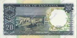 20 Shillings TANZANIE  1966 P.03a pr.NEUF