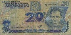 20 Shillings TANZANIE  1978 P.07a B