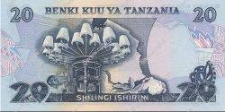 20 Shillings TANZANIE  1978 P.07b NEUF