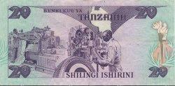 20 Shillings TANZANIE  1985 P.09 pr.SUP