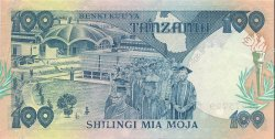100 Shillings TANZANIE  1985 P.11 SPL