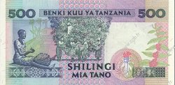500 Shilingi TANZANIE  1993 P.26a NEUF