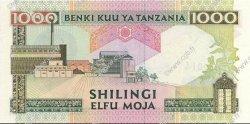 1000 Shillings TANZANIE  1993 P.27b SPL+
