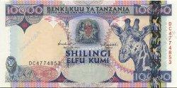 10000 Shillings TANZANIE  1997 P.33 NEUF