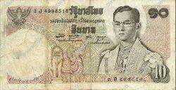 10 Baht THAÏLANDE  1969 P.083a TTB
