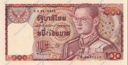 100 Baht THAÏLANDE  1978 P.089 NEUF