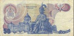 50 Baht THAÏLANDE  1985 P.090b TB