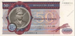 50 Zaïres ZAÏRE  1980 P.25a