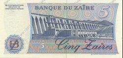 5 Zaïres ZAÏRE  1985 P.26A NEUF