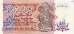 2000 Zaïres ZAÏRE  1991 P.36a NEUF