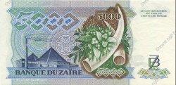 5000 Zaïres ZAÏRE  1988 P.37a SPL