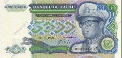 5000 Zaïres ZAÏRE  1988 P.37b NEUF