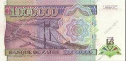 1000000 Zaïres ZAÏRE  1992 P.44 NEUF