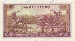 50 Ngwee ZAMBIE  1968 P.04a pr.NEUF